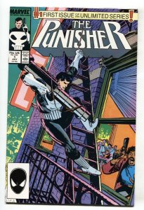 PUNISHER #1  comic book MARVEL-1st ISSUE HIGH GRADE NM- 1987