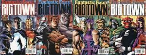 BIG TOWN (2001) 1-4  Fantastic Four  COMPLETE!