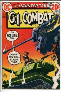 G.I. COMBAT #162 1973-DC-THE HAUNTED TANK-JOE KUBERT--vf