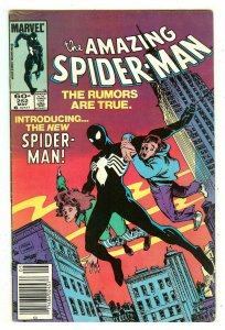Amazing Spiderman 252   Spiderman dons new black costume