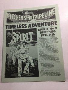 Kitchen Sink Pipeline 3 Nm Near Mint Fanzine