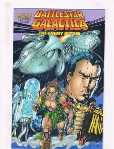 Battlestar Galactica: The Enemy Within #1 NM Maximum Press Comic Book DE31 CH17
