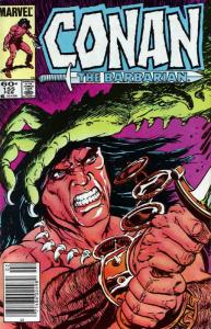 Conan the Barbarian #155 FN; Marvel   save on shipping - details inside