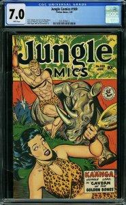 Jungle Comics #109 (Fiction House, 1949) CGC 7.0