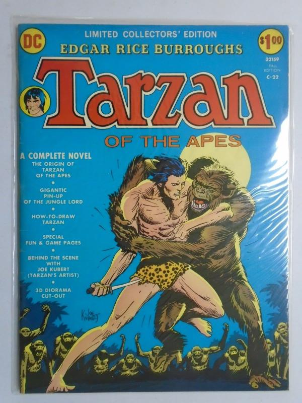 Tarzan of the Apes #C-22 - DC Treasury - 6.0? - 1973