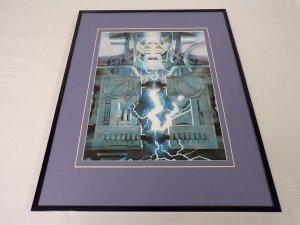 Marvels #3 Galactus Framed 16x20 Poster Display Alex Ross