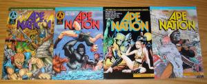 Ape Nation #1-4 VF/NM complete series - planet of the apes - alien nation set