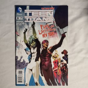 Teen Titans 8 Fine/Very Fine