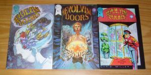 Revolving Doors #1-3 VF/NM complete series CHRIS MILLER blackthorne set 2 lot