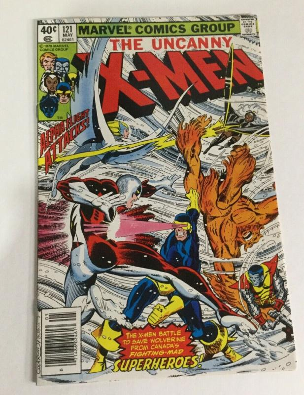 X-Men 121 Vf Very Fine 8.0 Marvel