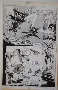 BILL JAASKA / JEFF ALBRECHT original art, TERMINATOR Hunter Killers, pg 24,11x17