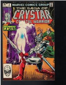 Saga of Crystar #2 (Marvel, 1984)