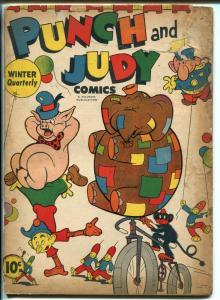 PUNCH AND JUDY #3-1944-HILLMAN-MONKEY-BICYCLE-pr/fr