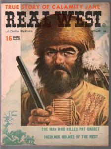 Real West 1/1960-Charlton-Calamity Jane-Yellowstone Kelly-Carl Breihan-VG+