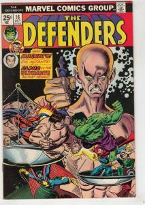 Defenders, The #16 (Oct-74) NM- High-Grade Hulk, Dr. Strange, Namor, Valkyrie...