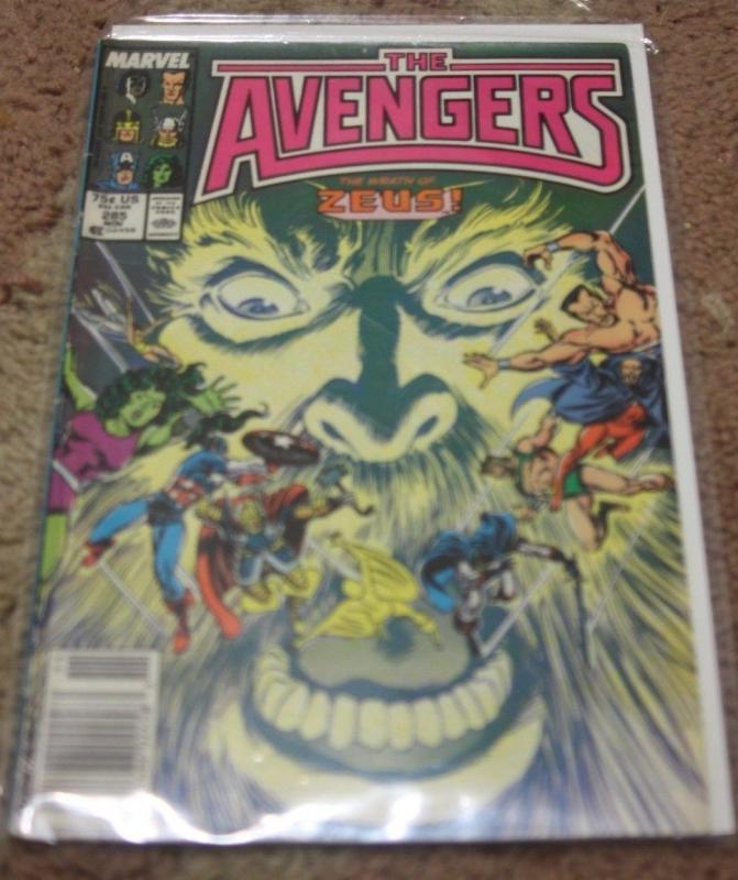 Avengers # 285 (Nov 1987, Marvel) namor hercules captain marvel thor