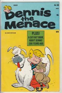 Dennis the Menace #148 (Jan-76) VF High-Grade Dennis