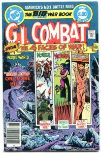 G.I. COMBAT #252-DC WAR-WWII ACTION-Joe Kubert FN+