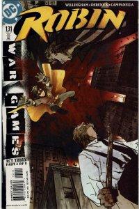 Robin #131  War Games NM