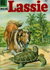 Lassie #26, VG+ (Stock photo)