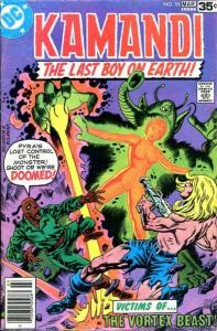 Kamandi: The Last Boy on Earth #55, Fine+ (Stock photo)