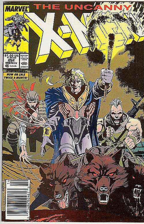 X-Men #252 (Nov-89) VF/NM+ High-Grade X-Men