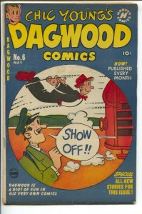 Dagwood #6 1951-Harvey-Chic Young-Blondie-Popeye-Little Iodine-Katzenjammer K...