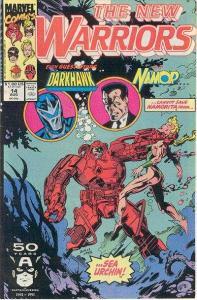 New Warriors (1990 series) #14, NM (Stock photo)