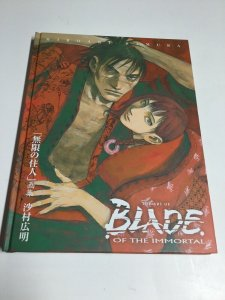 The Art Of Blade Of The Immortal Hiroaki Samura HC Hardcover Oversize Dark Horse
