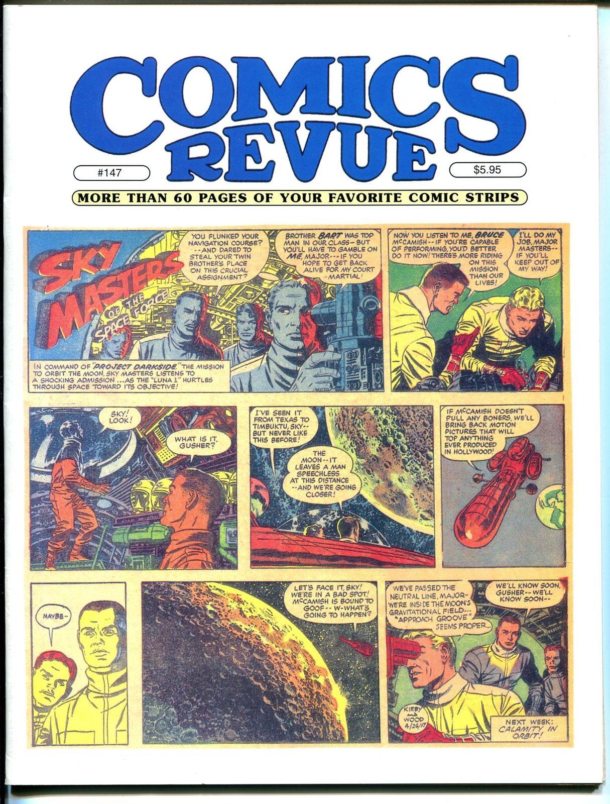 Comics Revue #147 1998-Kirby & Wood-Sky Masters-Phantom