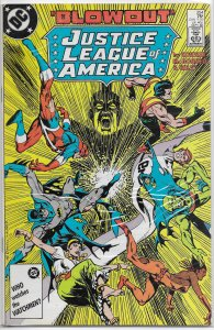 Justice League of America   vol. 1   #254 FN