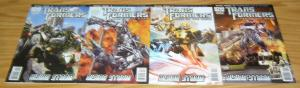Transformers: Dark of the Moon Prequel - Rising Storm #1-4 VF/NM complete series