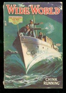 WIDE WORLD PULP JUNE 1929 CHINK RUNNING SMUGGLING CHINA VG