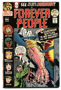 FOREVER PEOPLE #9 Deadman appears-comic book-DC VF