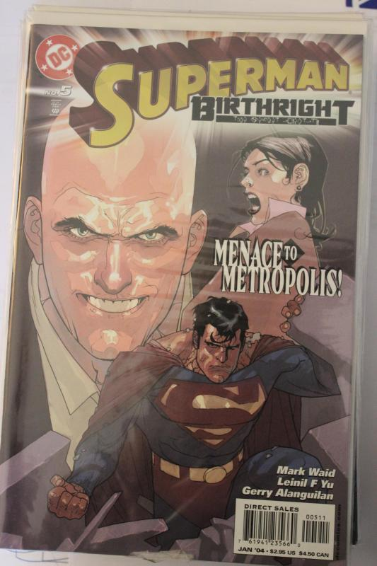 Superman Birthright 5 9-4-nm