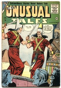 UNUSUAL TALES #3-1956-MYSTERY-SCI FI-HORROR-MAGIC- MARS ATTACKS-RARE-CHARLTON