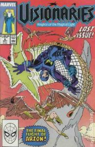 VISIONARIES:KNIGHTS OF THE MAGICAL LIGHT #6, VF/NM, Mark Bagley, Marvel 1986