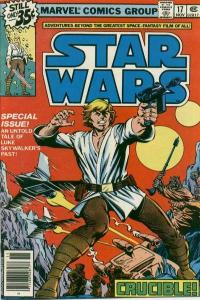 Star Wars (1977 series) #17, VF- (Stock photo)