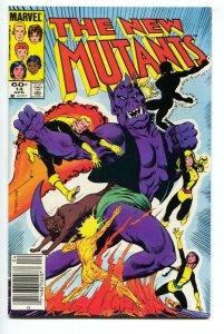 The New Mutants #14 1983- Marvel Newsstand- High Grade --  NM-