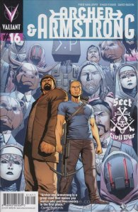 Archer and Armstrong (2nd Series) #16 VF; Valiant | save on shipping - details i