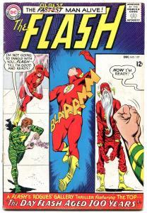 FLASH #157 1965-OLDEST MAN ALIVE-DC COMICS-THE TOP VG