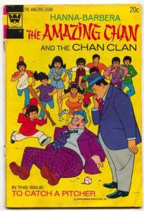Amazing Chan and the Chan Clan #2 1973- Whitman comics VG