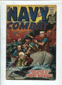 NAVY COMBAT #11 1957-ATLAS-JOE MANEELY-VG-