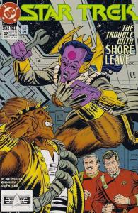 Star Trek (4th Series) #42 FN; DC | save on shipping - details inside