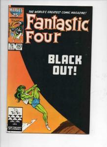 FANTASTIC FOUR #293 VF/NM She Hulk, Byrne 1961 1986 Marvel, more FF in store
