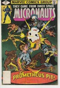 Micronauts #5 (1979)