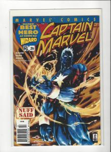 Captain Marvel #26 (2002) Peter David Marvel Comics NM