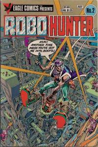 Robo-Hunter #2, VF+ (Stock photo)