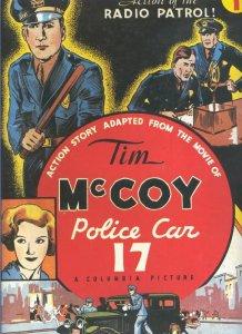 Tim Mc Coy police car 17 numero 1