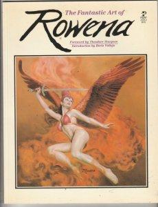 The Fantastic Art of Rowena #1 (Jan-83) NM Super-High-Grade